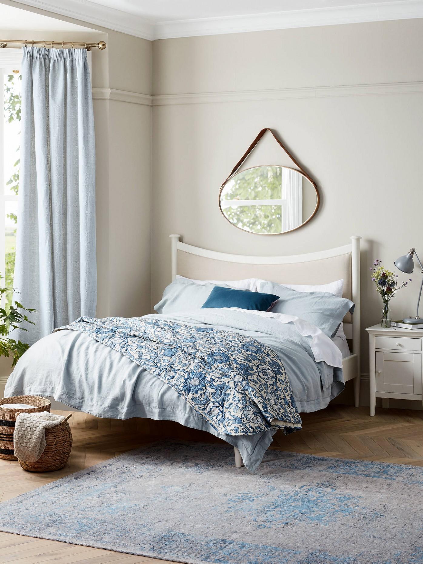 John Lewis & Partners Essence 12 Door Bedside Table, White - Bedroom Ideas John Lewis