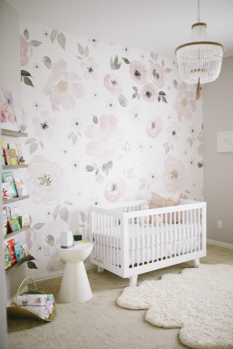 Jolie Wallpaper Mural - Baby Room Wallpaper