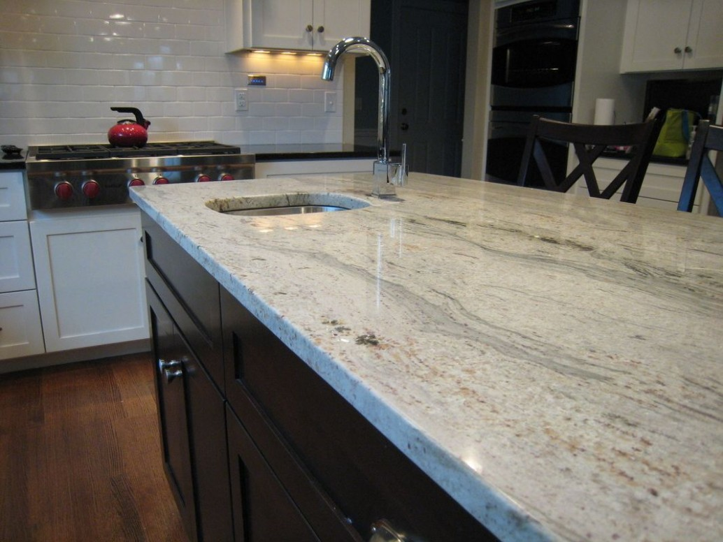Juparana Bianco Kitchen  Kitchen countertops, Comfortable kitchen  - Superior Kitchen Cabinets Gardner Ma