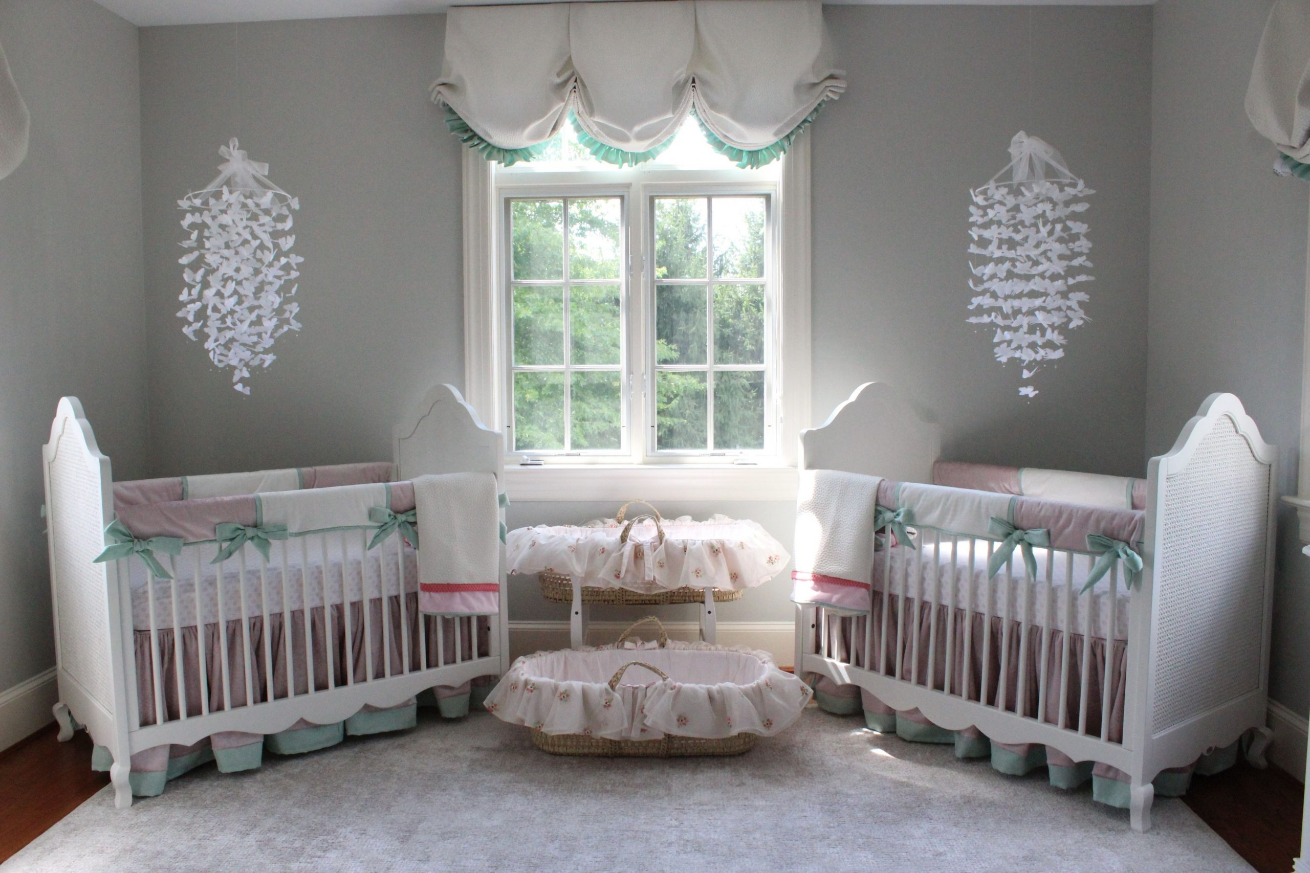 Katz Twin Nursery Reveal - Project Nursery  Baby boy room nursery  - Baby Room Furniture