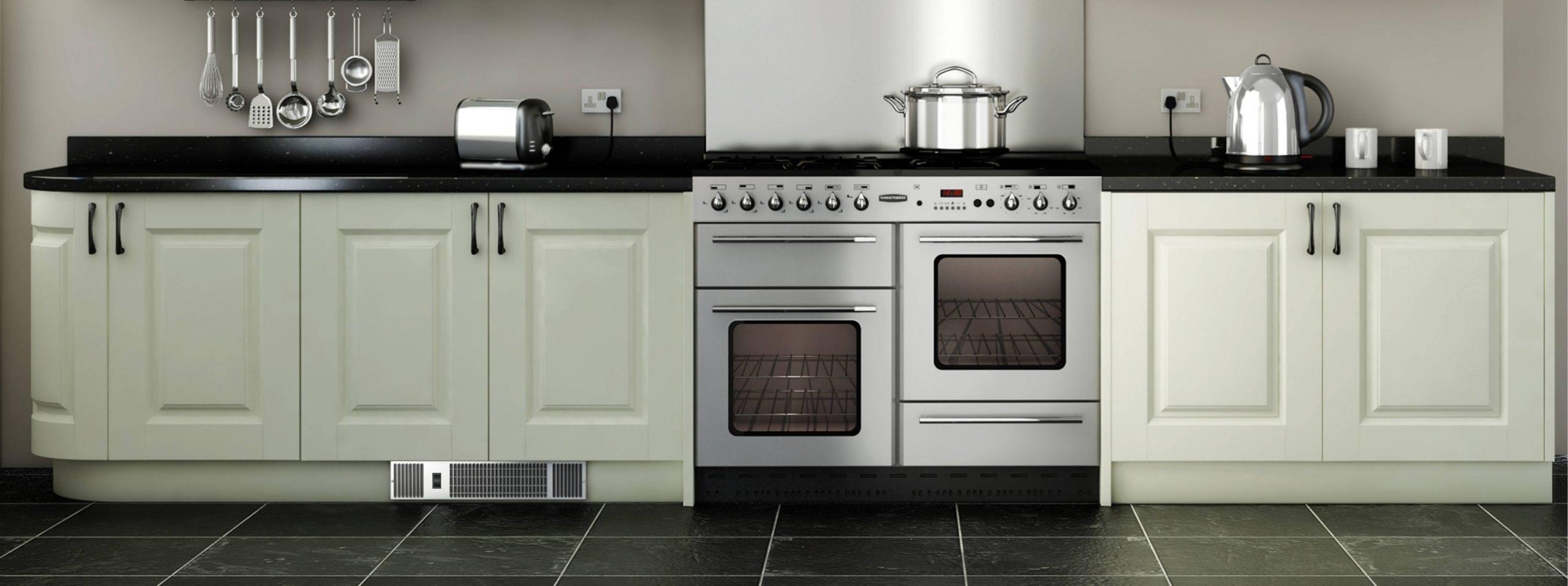 Kickspace Heaters  Baseboard Heaters  Fan Convectors  Radiators - Kitchen Cabinet Baseboard Heater