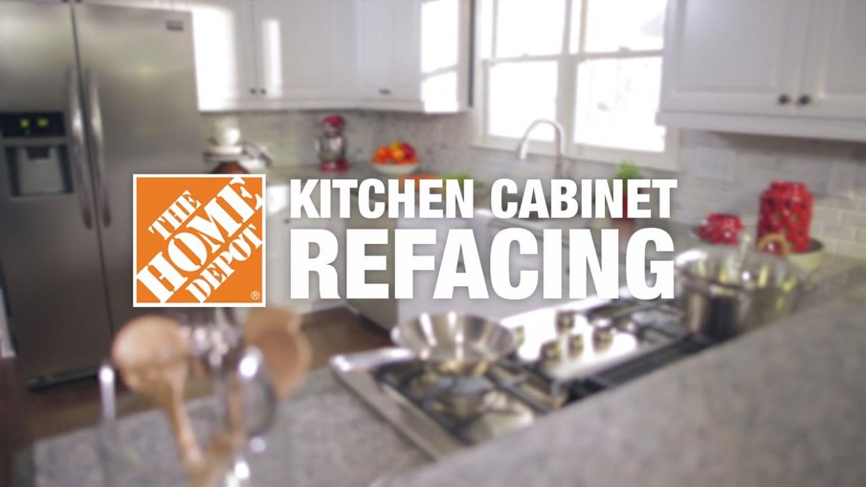 Kitchen Cabinet Refacing at The Home Depot - Renew Kitchen Cabinets Home Depot