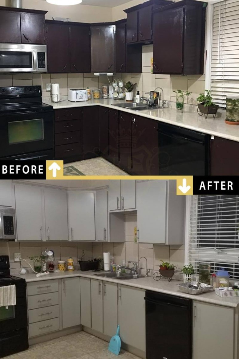 Kitchen Cabinets Painting  Cabinet Refinishing Toronto - Kitchen Cabinet Painting Toronto