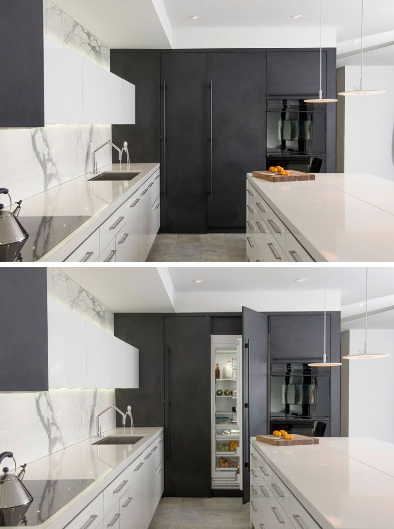 Kitchen Design Idea - 10 Inspirational Examples Of Kitchens With  - Integrated Kitchen Cabinets