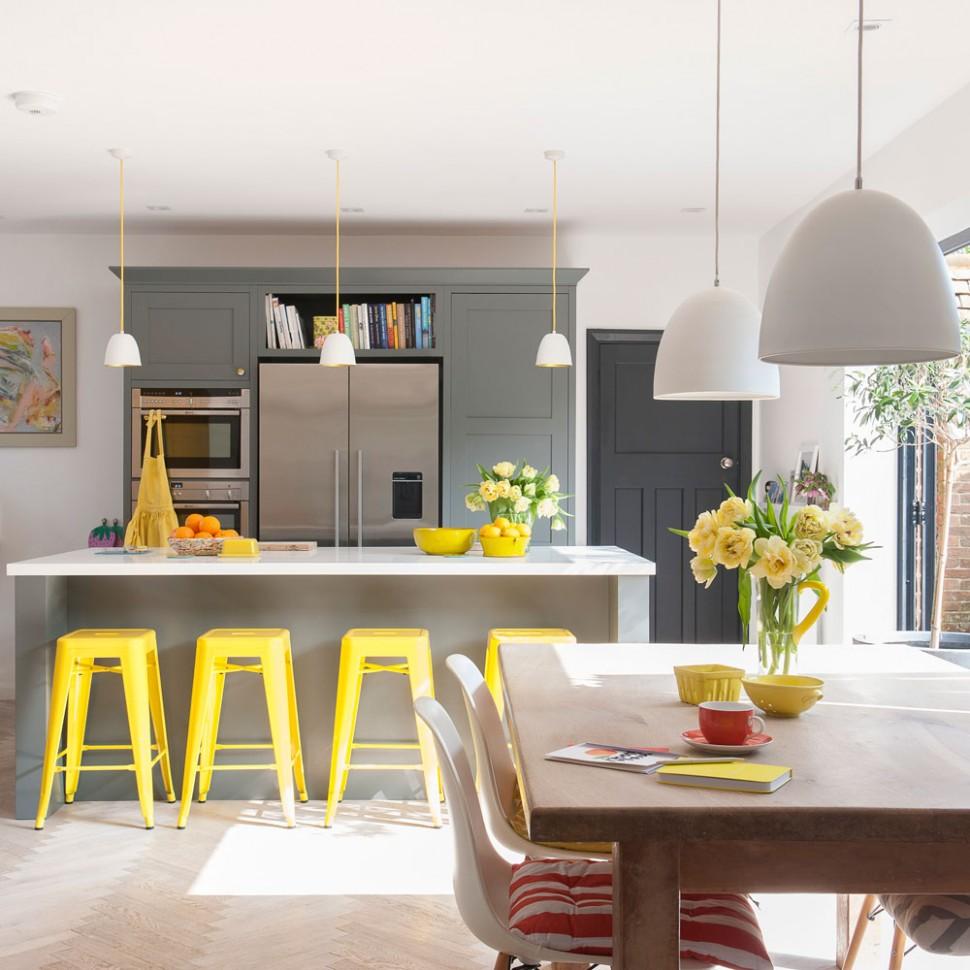 Kitchen-diner ideas – Kitchen diner ideas for open-plan kitchen spaces - Kitchen Dining Room Ideas Uk