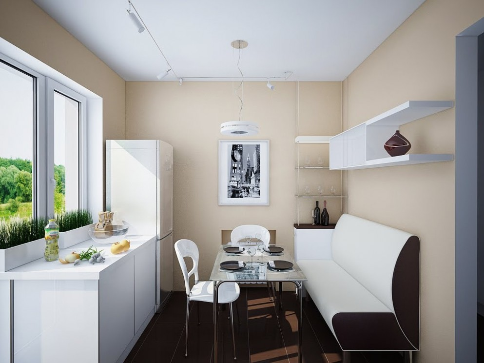 Kitchen Dining Designs: Inspiration and Ideas - Small Dining Room Kitchen Ideas