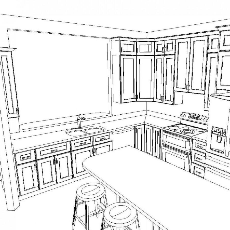 Kitchen Layout Designs - CabinetSelect