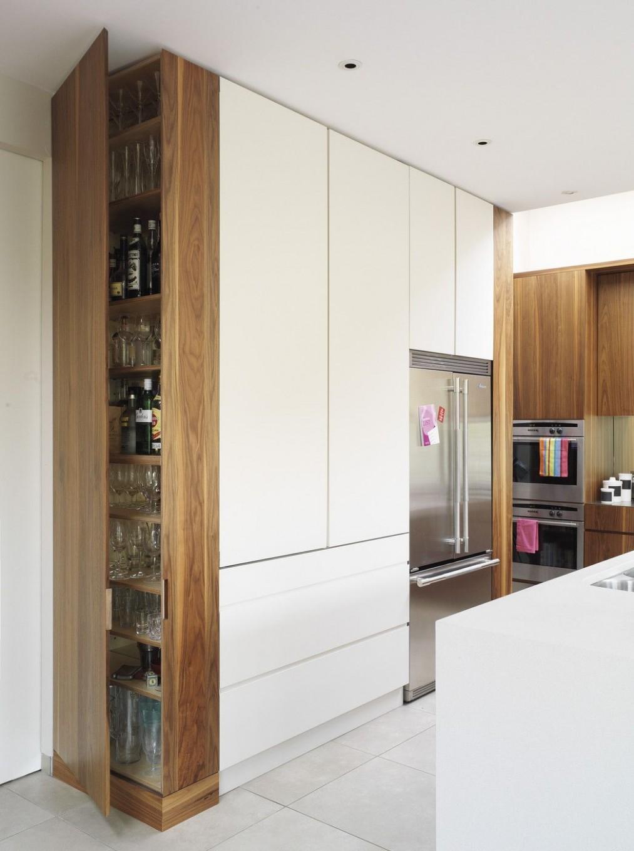 Kitchen Photos (10 of 10) - Lonny  Modern kitchen photos  - Floor To Ceiling Corner Kitchen Cabinets