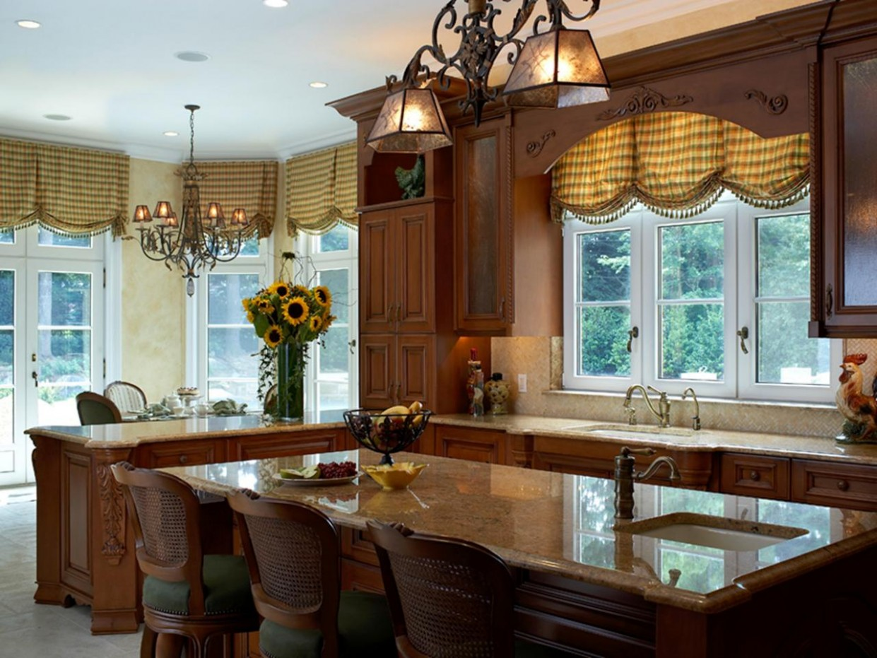 Kitchen Window Treatment Valances: HGTV Pictures & Ideas  HGTV - Dining Room Window Valance Ideas