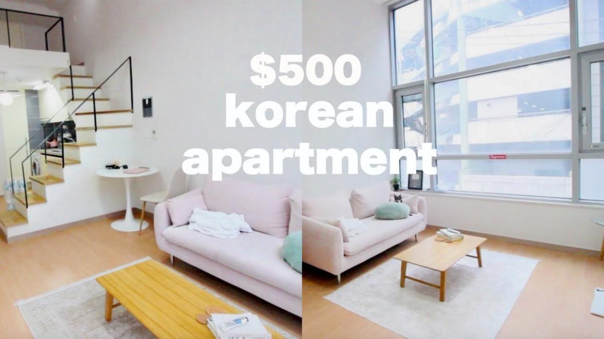 Korea Apartment Tour - $9 Loft Apartment - Apartment Korea Design
