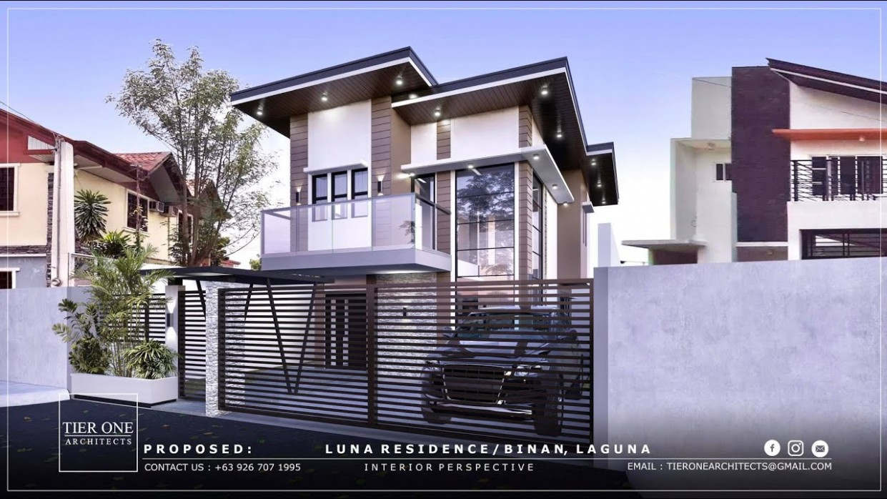 L Residence - 11 Sqm House - Tier One Architects - Apartment Design For 120 Sqm Lot