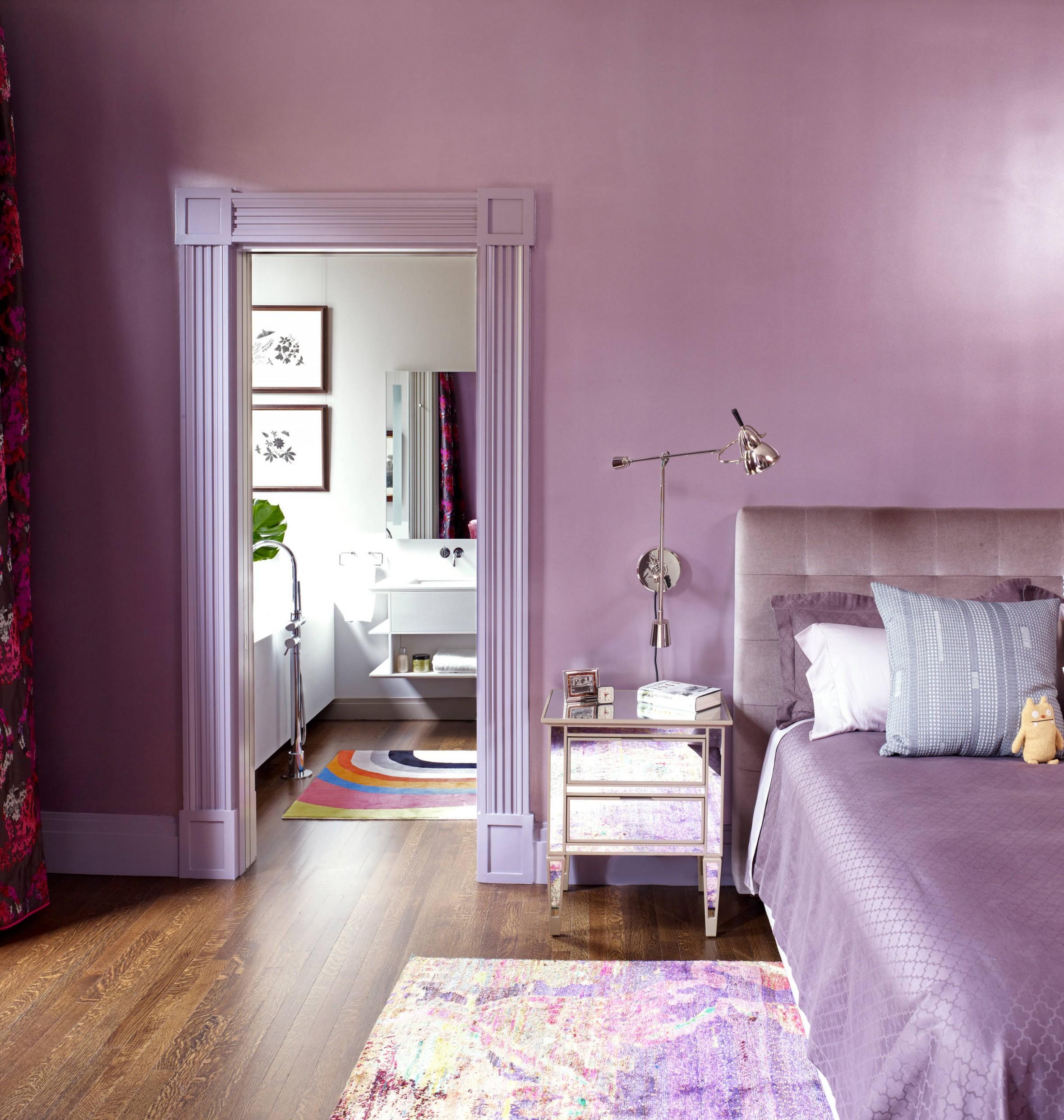 Lavender Bedroom Ideas And Photos  Houzz - Bedroom Ideas Lavender