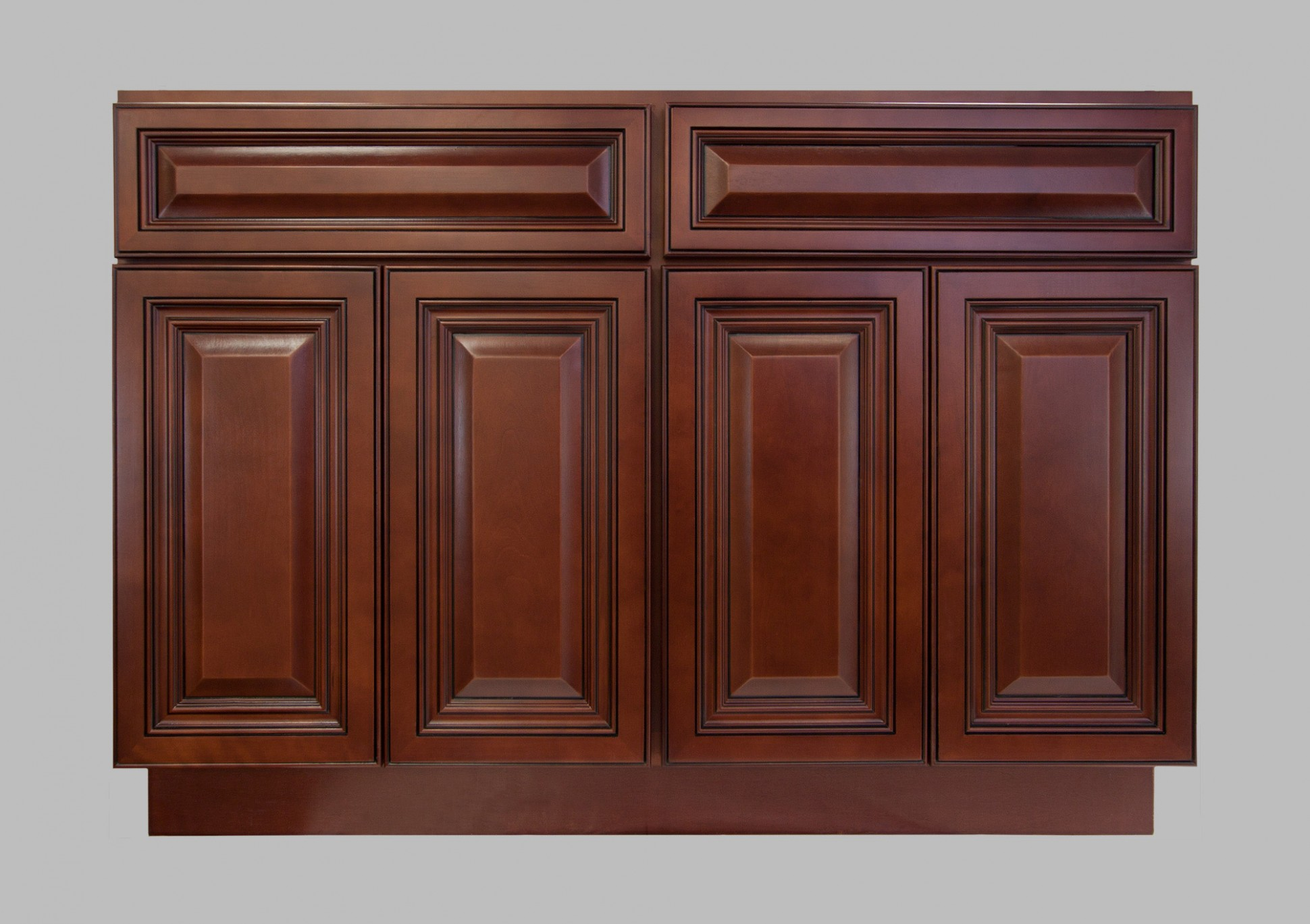 LessCare > Kitchen > Cabinetry > Cherryville > LCB11Cherryville  - Four Door Kitchen Cabinet