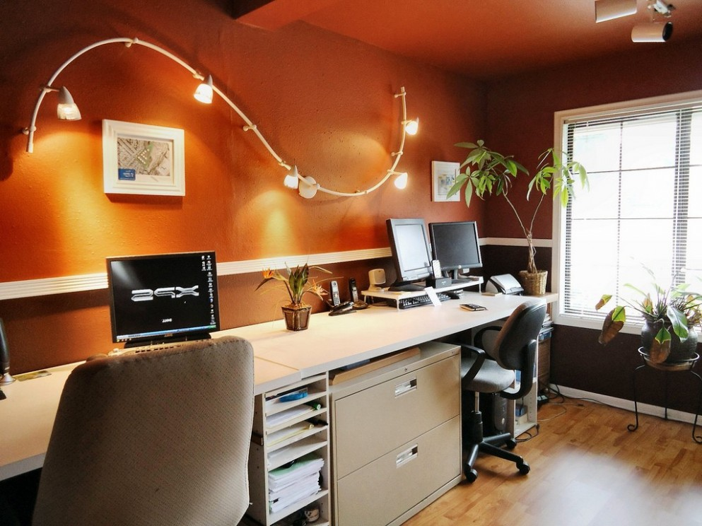 Lighting Ideas For Your Home Office  Modernize Your Space - Home Office Ideas Lamp