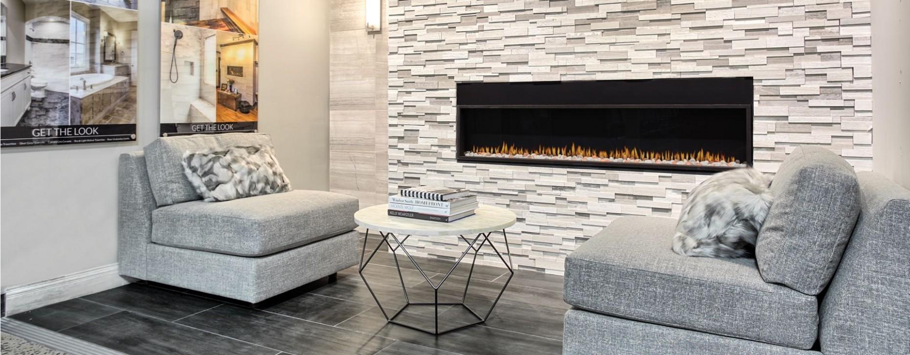 Living Room Tile Designs, Trends & Ideas for 12 – The Tile Shop - Dining Room Tile Ideas