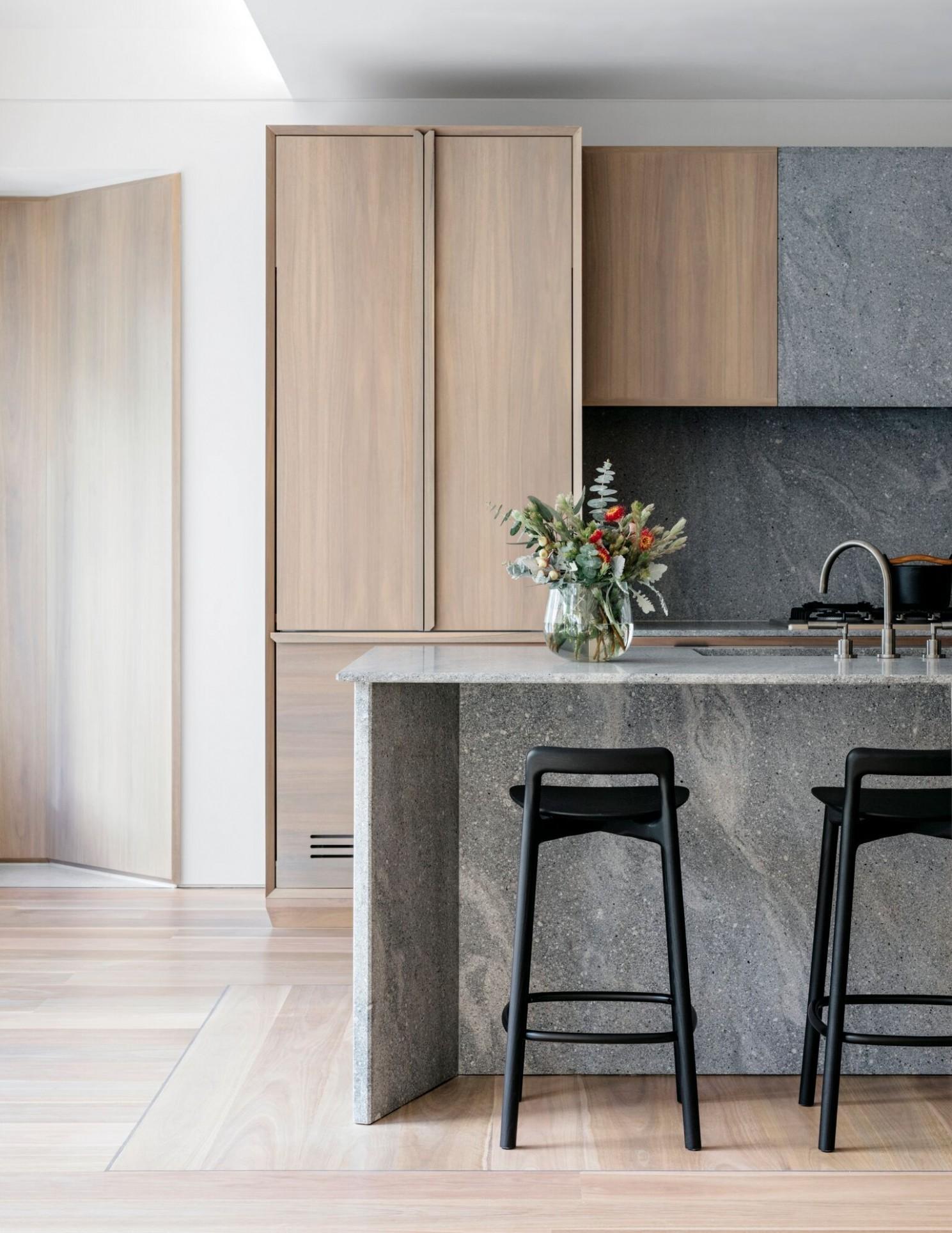 Loftus Lane Sydney Our Paradiso kitchen scheme for this boutique  - Apartment Kitchen Design Sydney