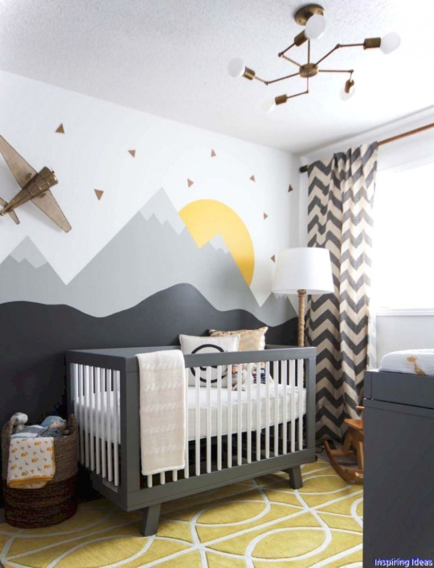 Lovelyving - Architecture and Design Ideas  Baby room themes  - Baby Room Wall Painting