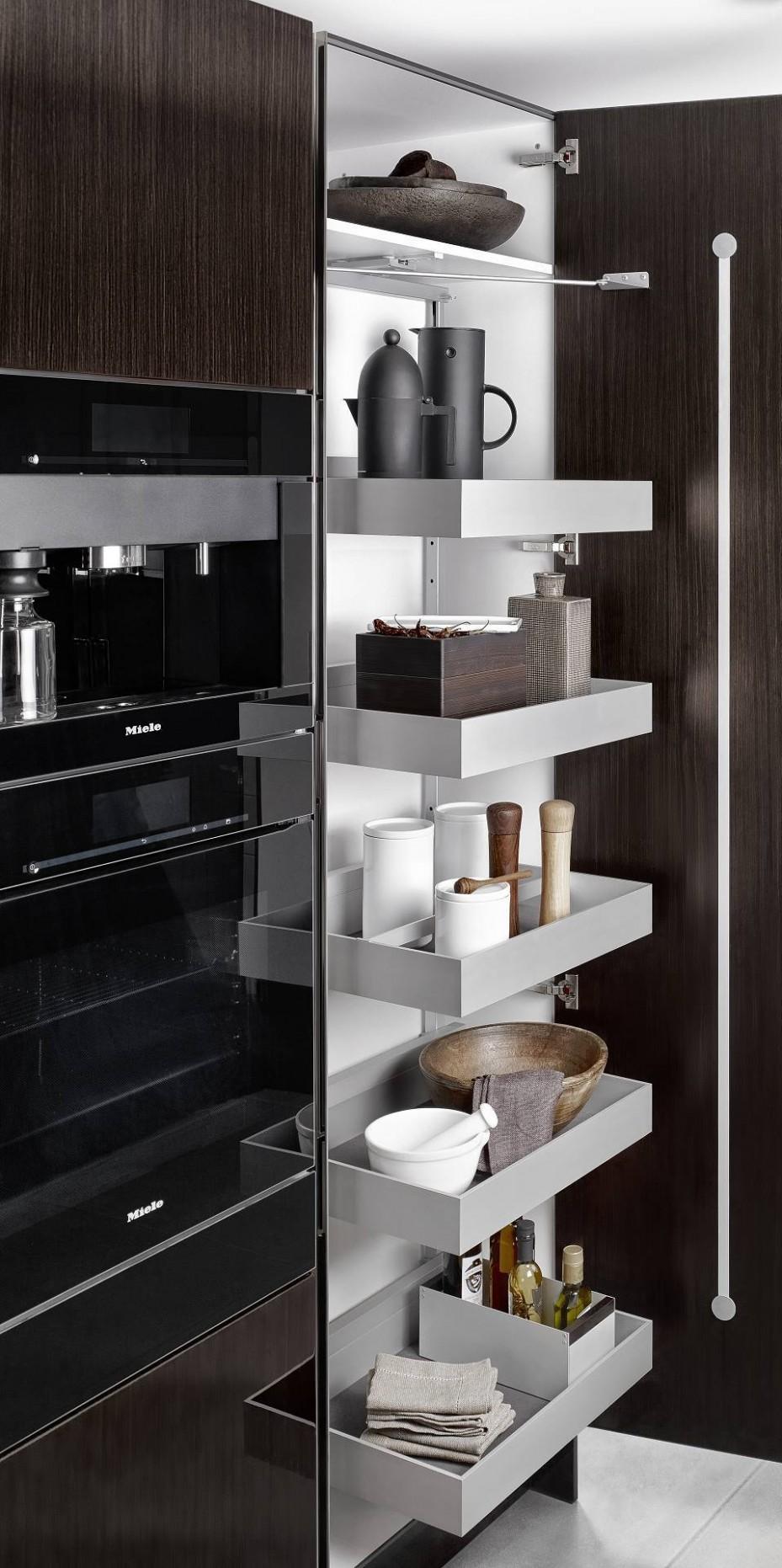 Luxury Kitchen Cabinets Designs in Dubai  SieMatic UAE - Kitchen Cabinet Accessories Dubai