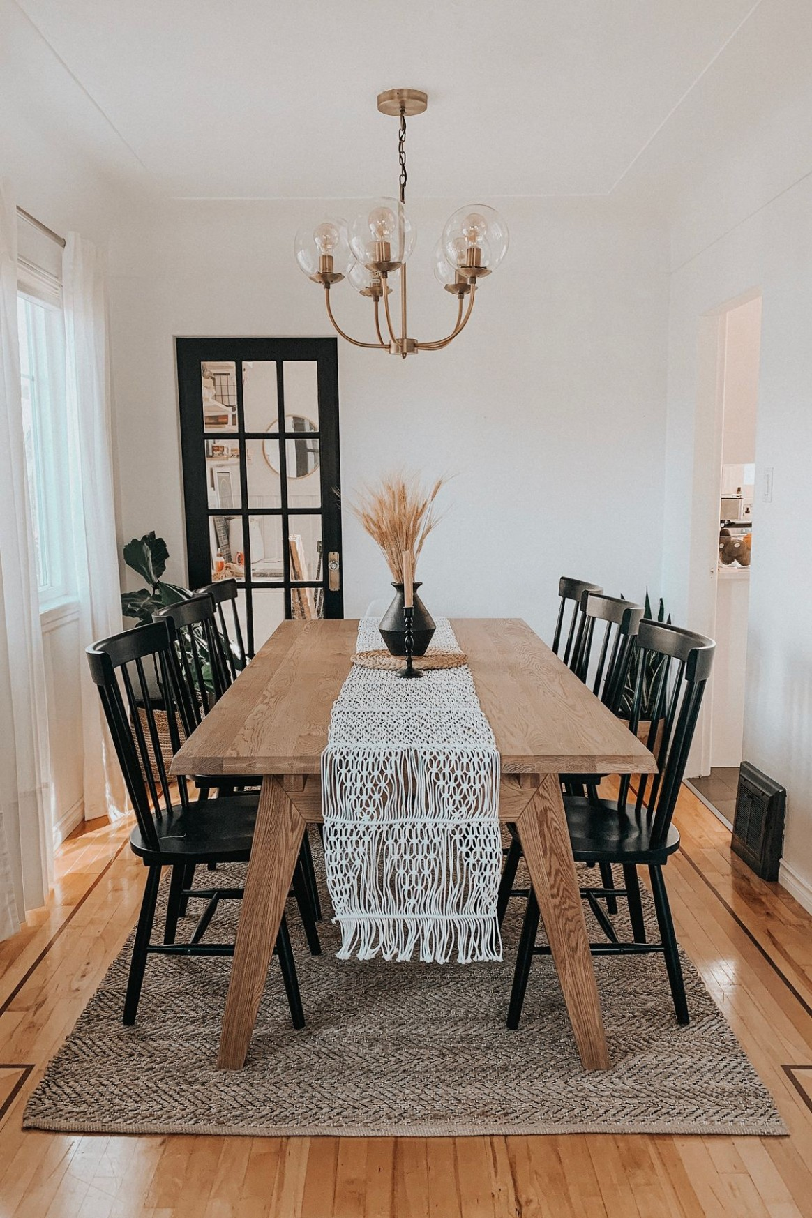 Madera Oak Dining Table, Extendable in 10  Farmhouse dining  - Dining Room Ideas Oak Table