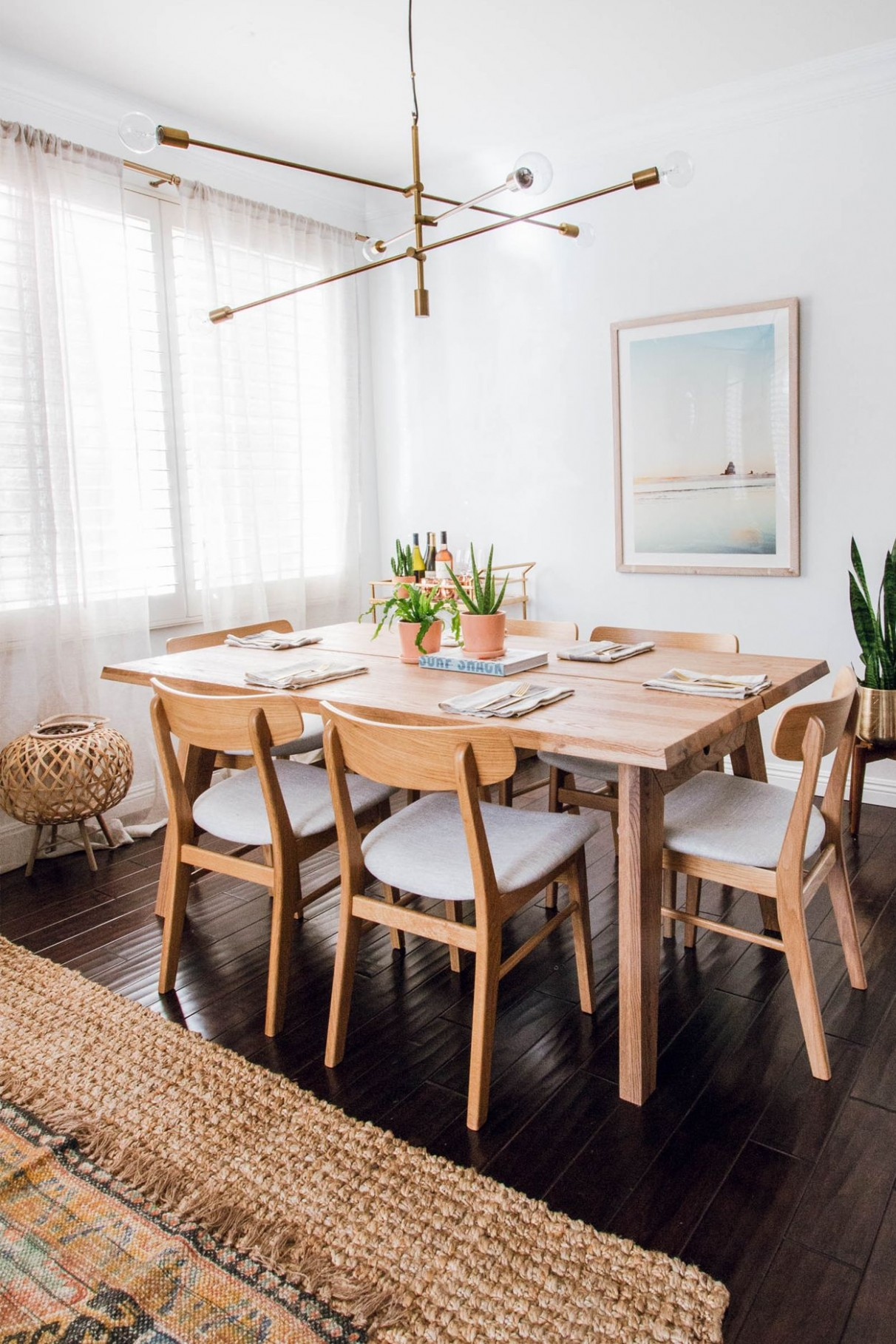 Madera Oak Dining Table For 10  Dining room small, Minimalist  - Dining Room Ideas Oak Table