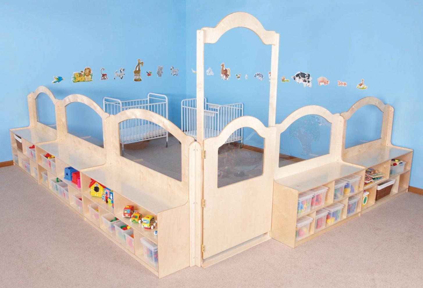 Mainstream Wave Infant Room Divider System - Baby Room Divider