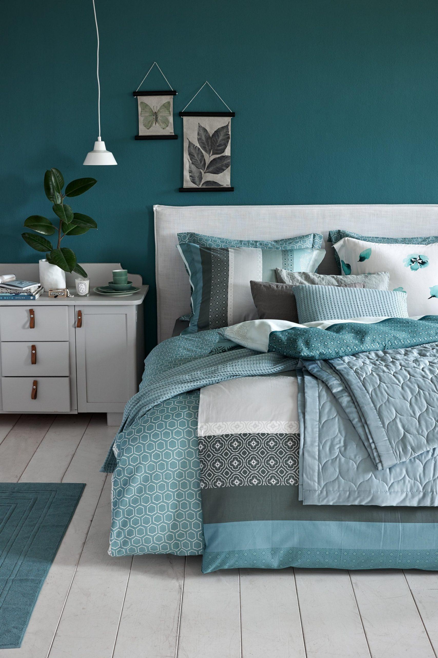 Make Room for Greenery - Teal Bedroom Ideas - Teal Room Décor - Bedroom Ideas Teal