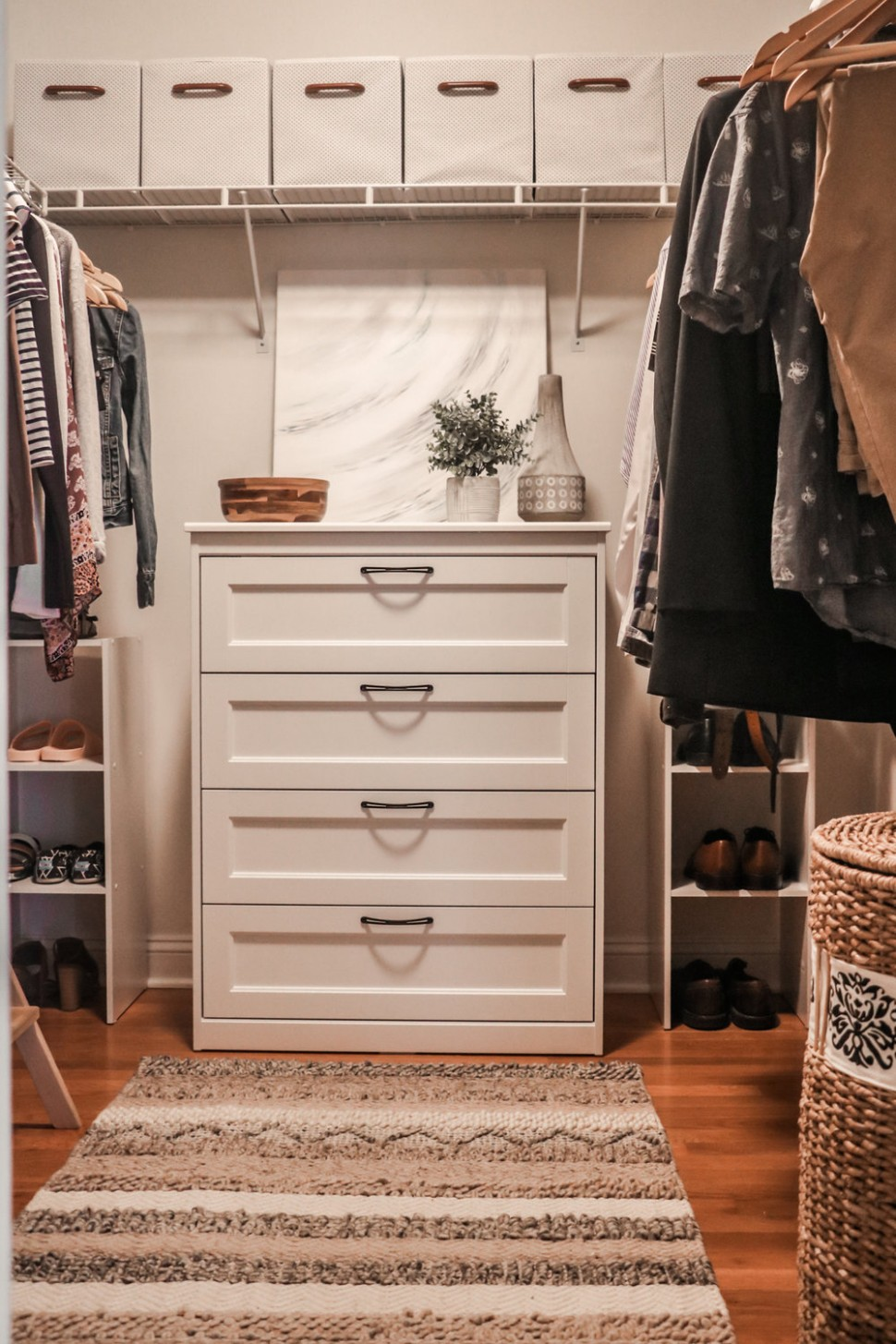 Master Bedroom Closet  Small Changes For a Big Change — root + dwell - Closet Ideas Master Bedroom