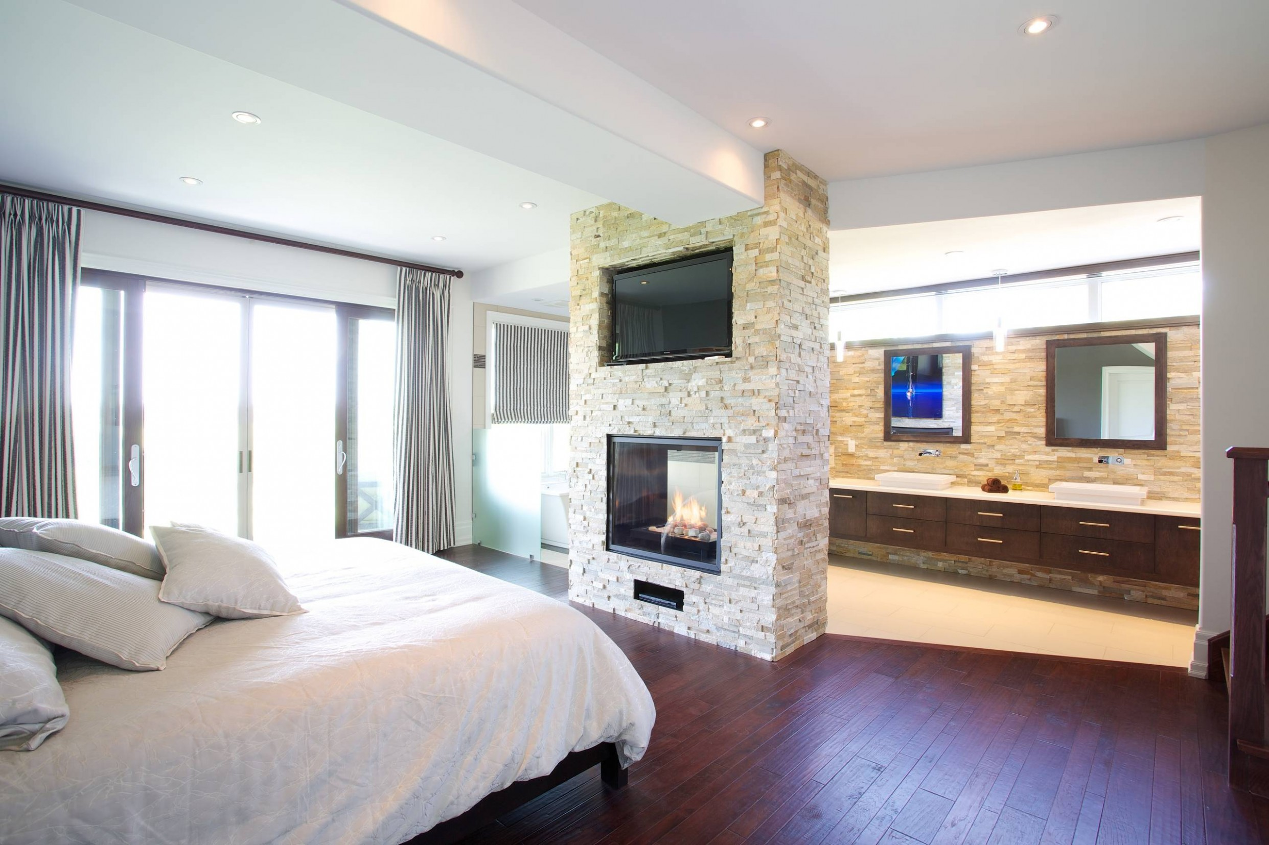 Master Bedroom Ensuite  Houzz - Bedroom Ideas Ensuite