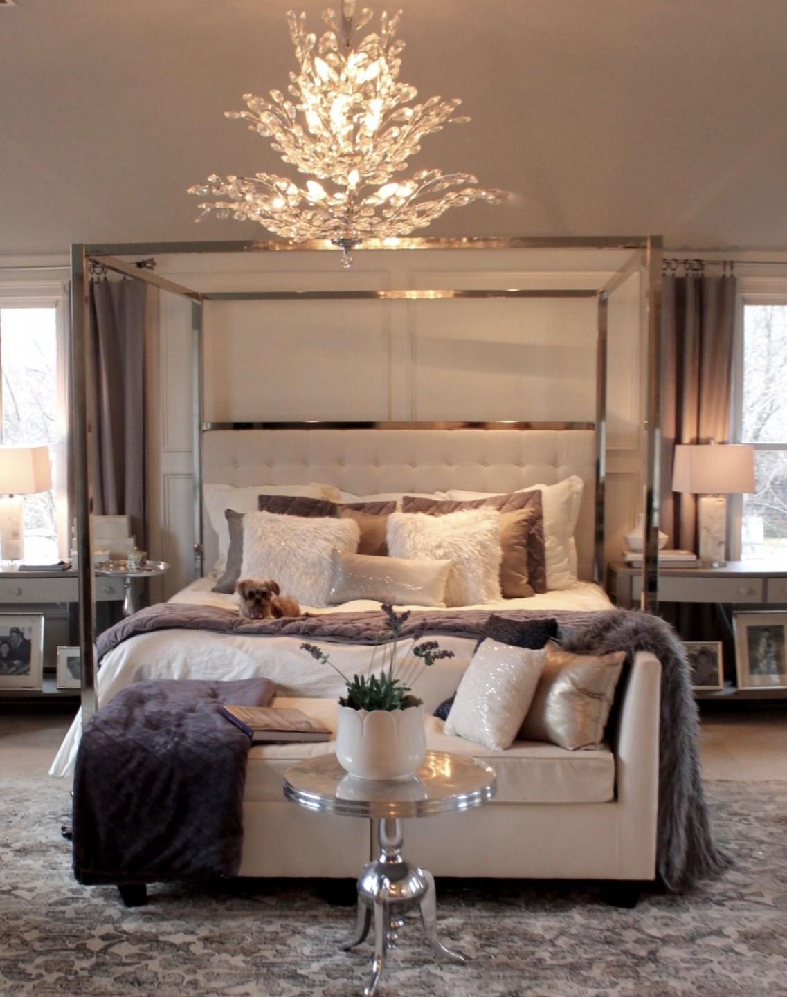 Master Bedroom Full Reveal  Luxury bedroom master, Elegant master  - Bedroom Ideas Master