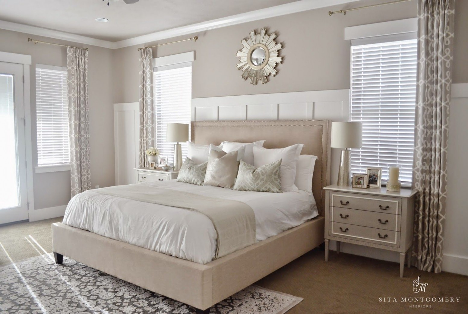 Master Bedroom, Neutral Bedroom, Neutral Master Suite, Stunning  - Bedroom Ideas Neutral Colors