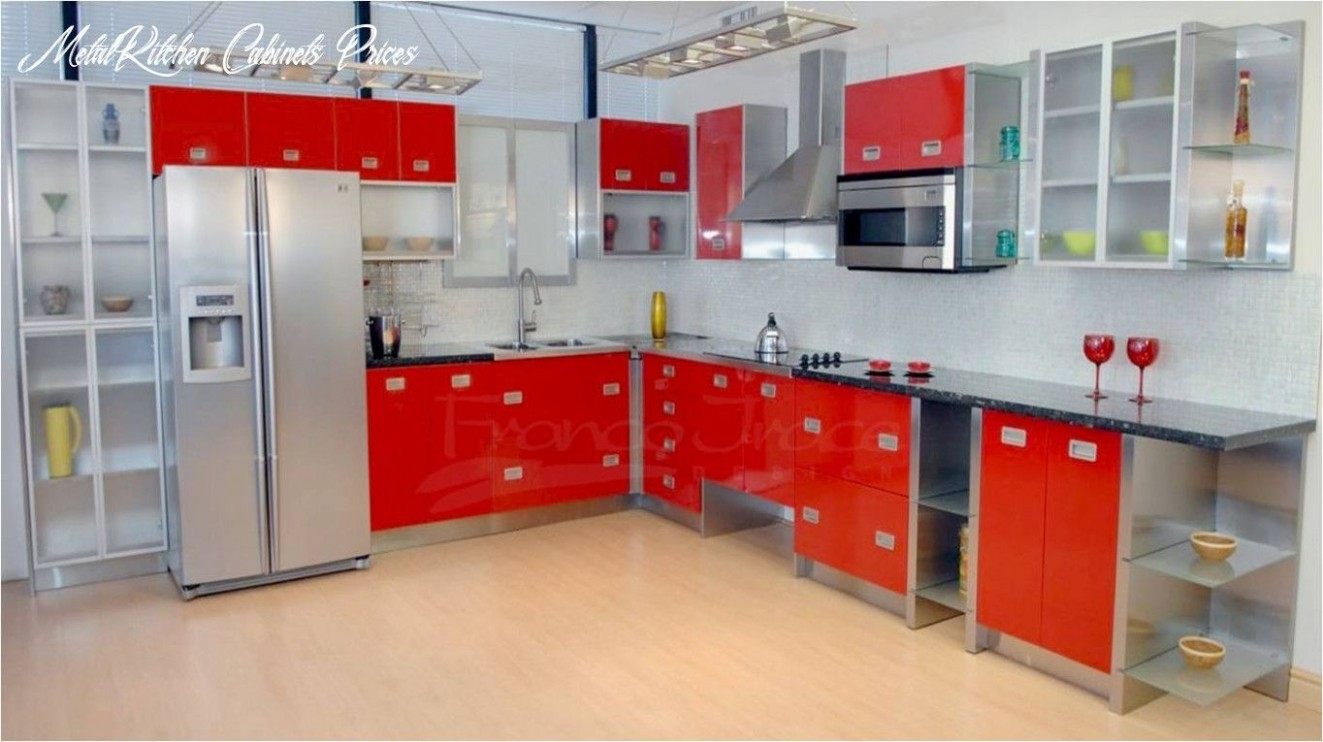 Metal Kitchen Cabinets Prices in 8  Stainless steel kitchen  - Metal Kitchen Cabinets Prices