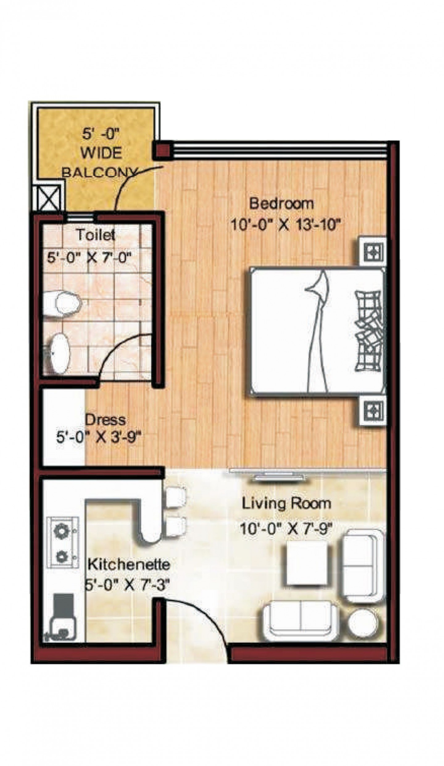 micro apartments floor plans  Floor Plan  Studio apartment floor  - Apartment Design And Floor Plan