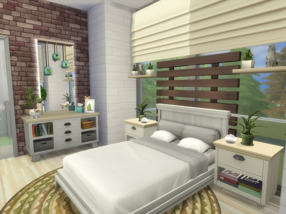 Mod The Sims - Sims Tranquil No CC  Sims house, Sims 11 bedroom  - Bedroom Ideas Sims 4