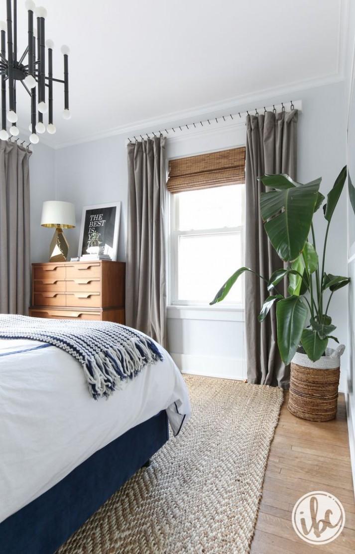 Modern Bedroom Decor  Modern bedroom decor, Home decor bedroom  - Bedroom Ideas Curtains