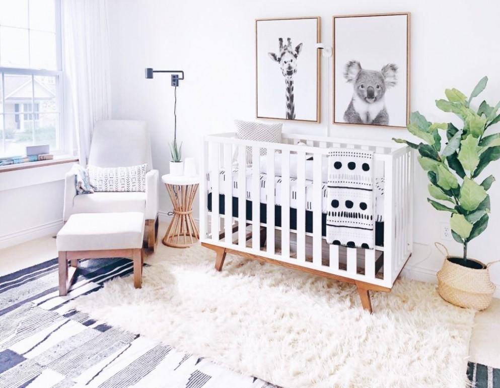 Modern Boho Nursery - Project Nursery  Nursery baby room, Baby  - Baby Room And Office