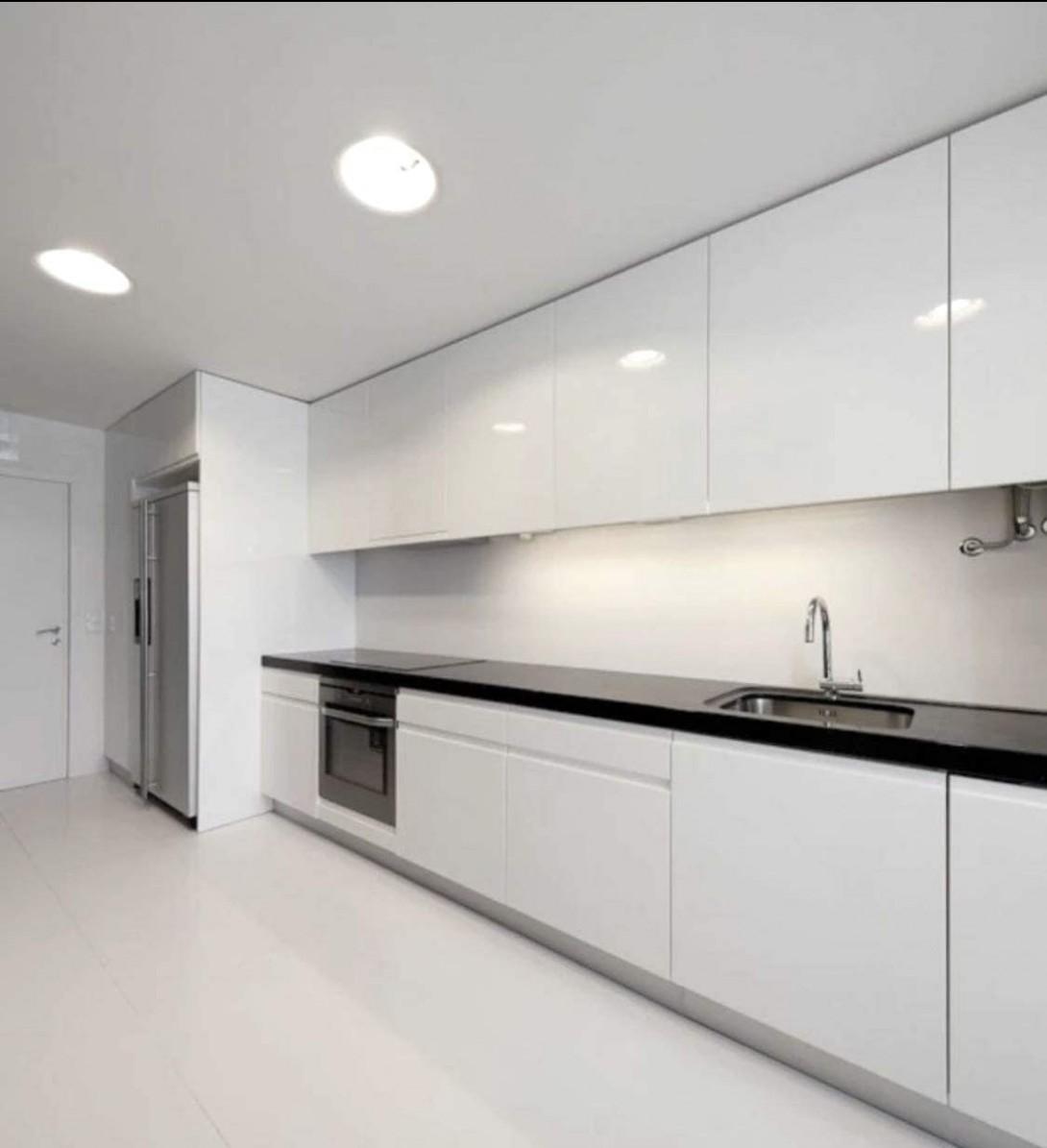 Modern Gloss White Kitchen cabinets - - Amazon
