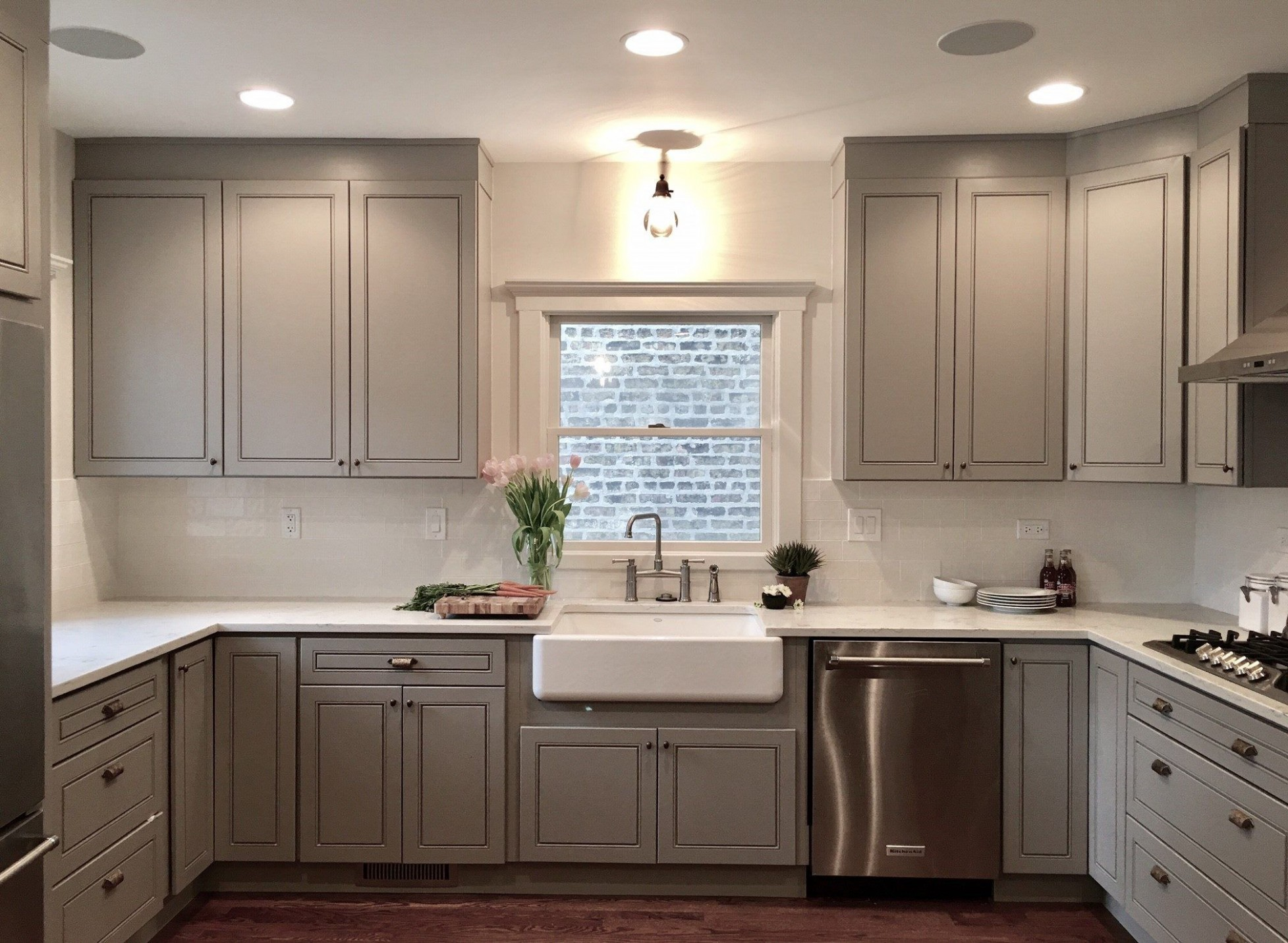 Modern grey cabinets #GTime #Niles #Chicago #Kitchen  - Kitchen Cabinets Niles