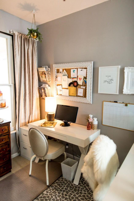 Modern Home Office Designs  Bedroom office space, Small bedroom  - Home Office Ideas Small Bedroom