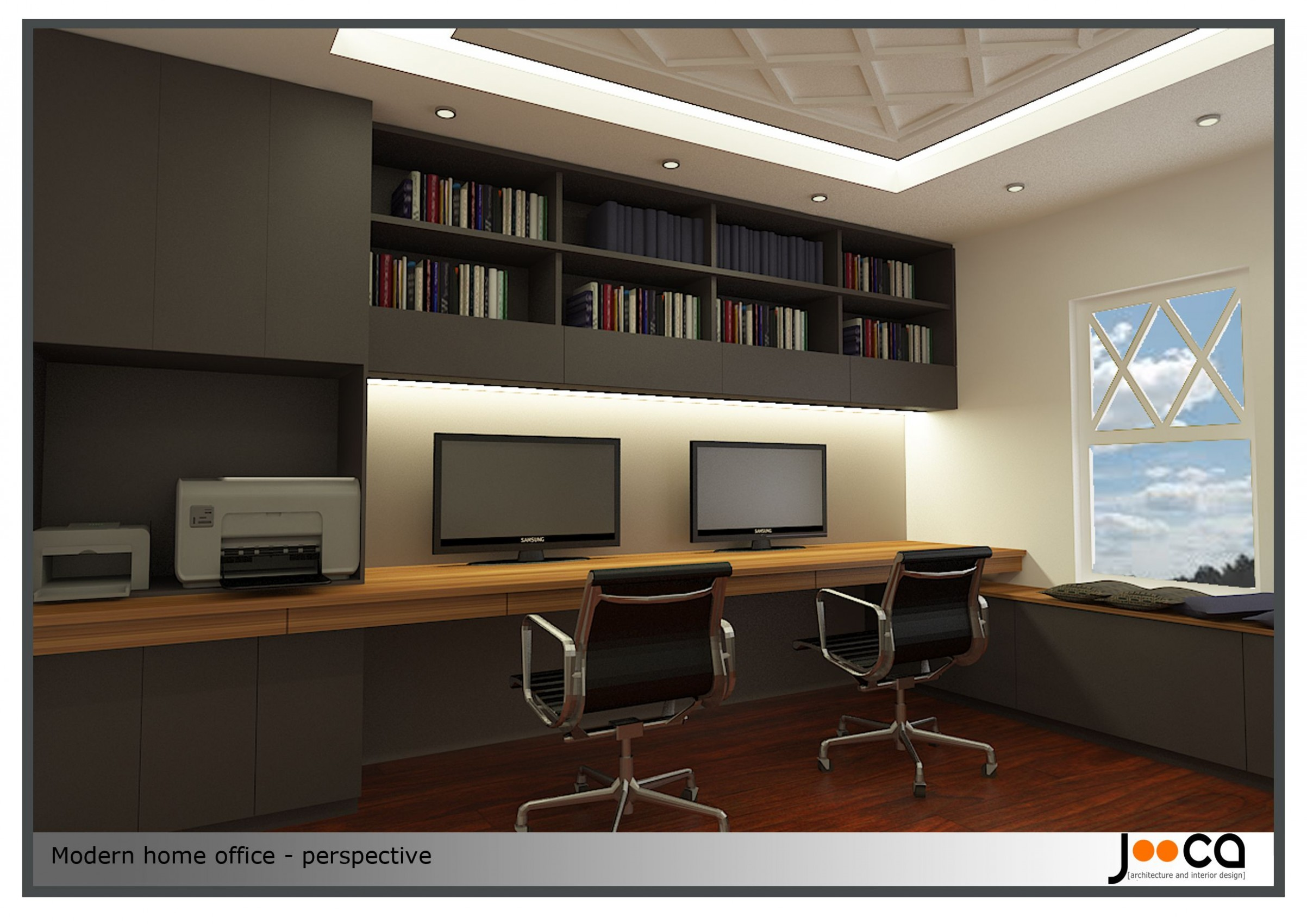 Modern Home Office Regarding Modern Home Offices Decorating And  - Home Office Ideas Contemporary