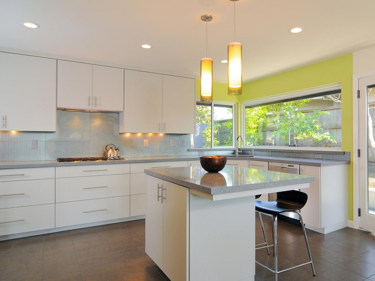Modern Kitchen Cabinets: Pictures, Options, Tips & Ideas  HGTV - Modern White Kitchen Cabinets Photos