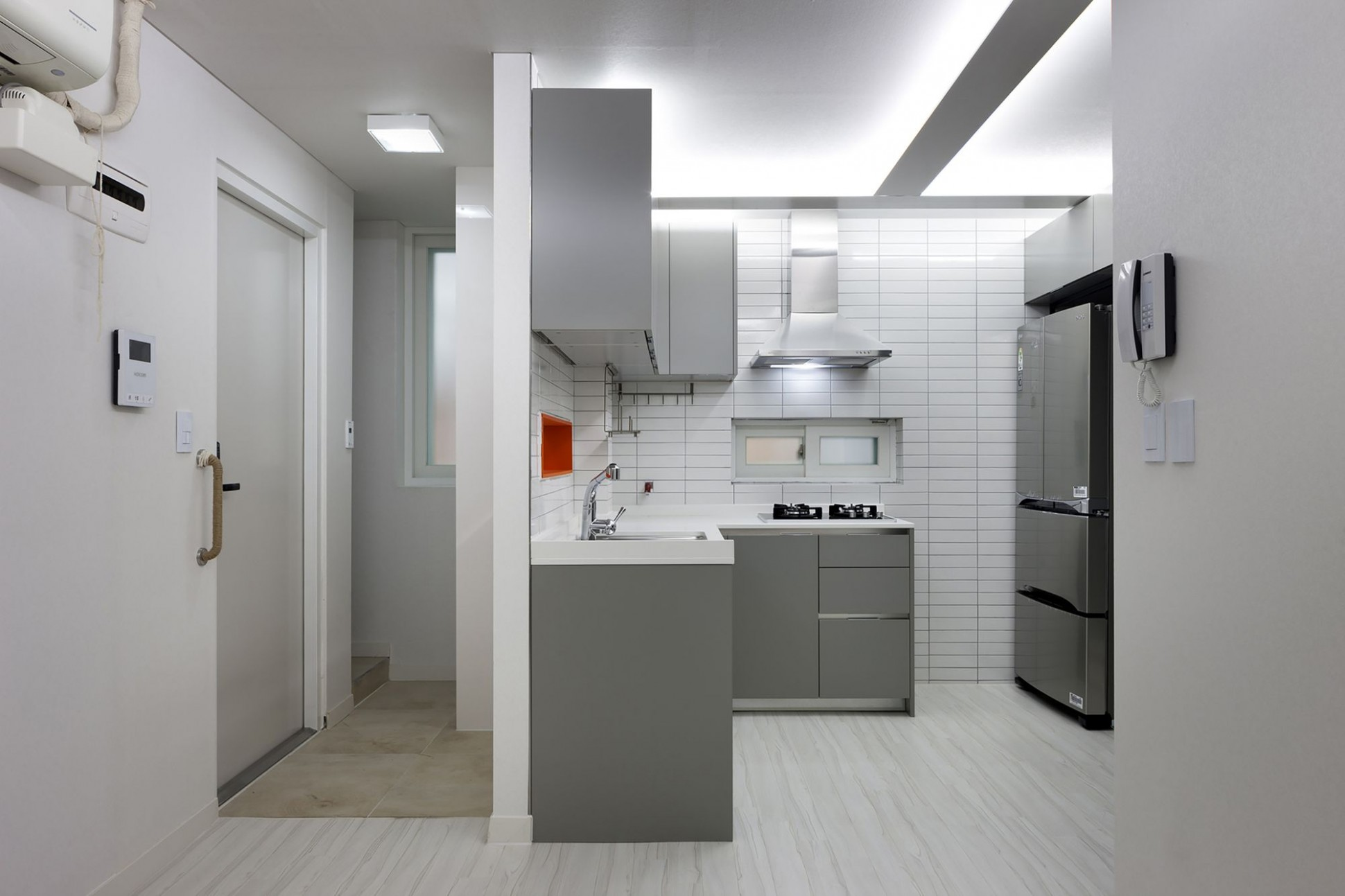 Modern Small Apartments in Seoul by Studio GAON  Small apartments  - Apartment Korea Design