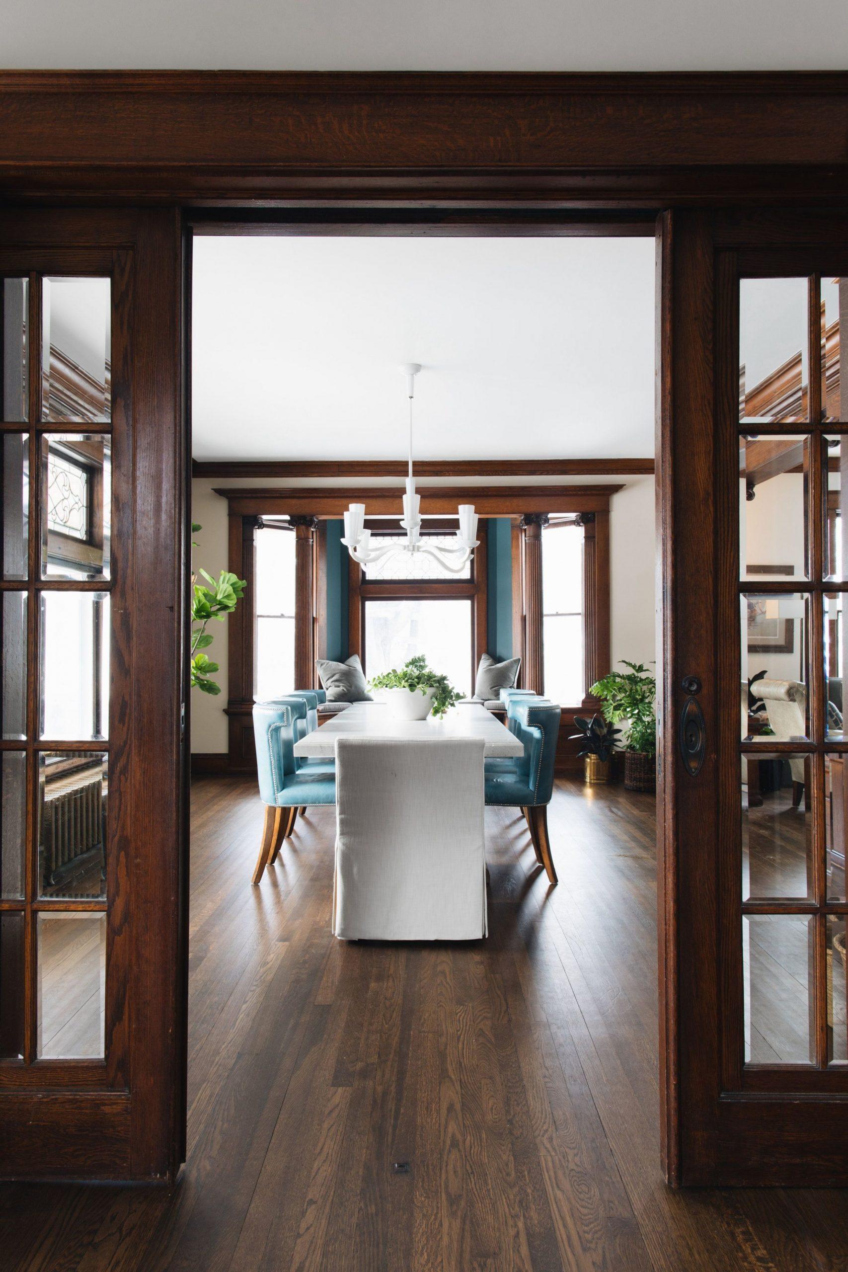 Modern Victorian dining room update  Jean Stoffer Design  Dining  - Modern Victorian Dining Room Ideas