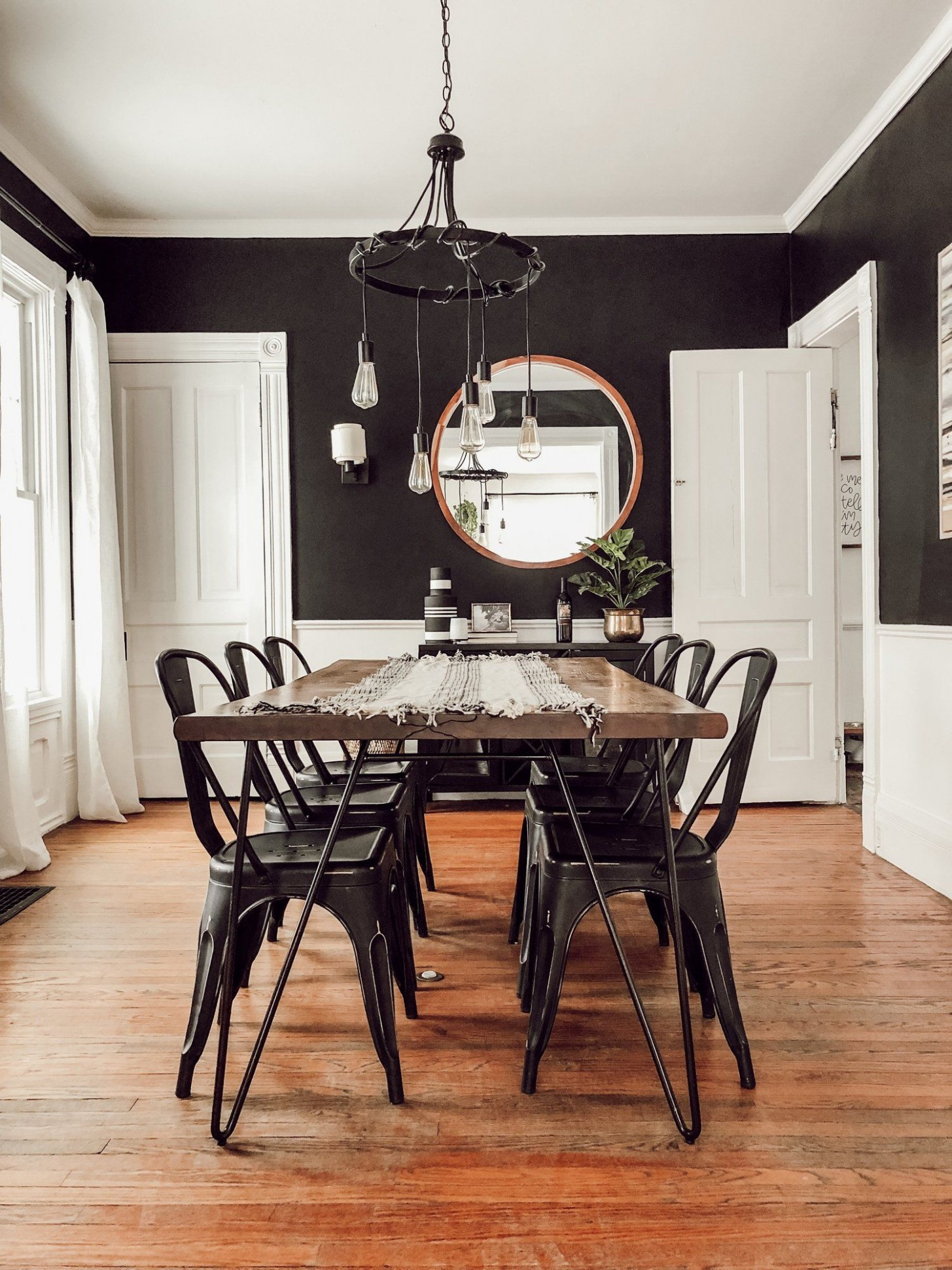 Modern, Vintage Victorian House Tour - Miranda Schroeder  Dining  - Dining Room Ideas For Victorian House