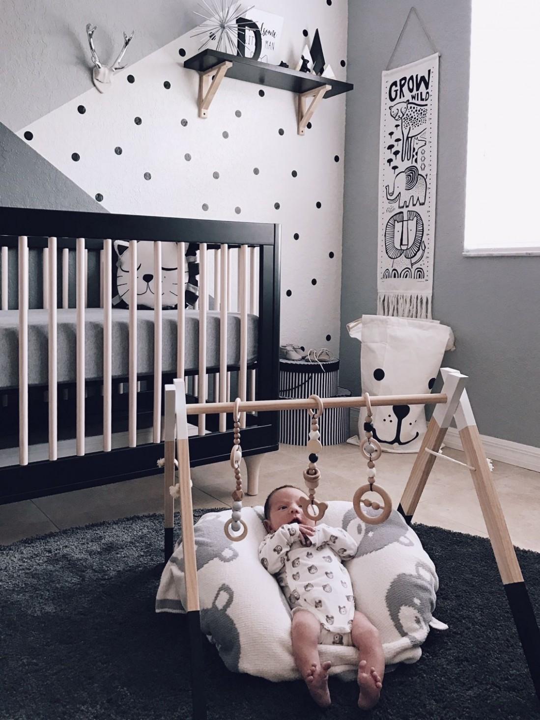 Monochrome Zoo Nursery - Project Nursery  Baby boy room decor  - Baby Room Pinterest
