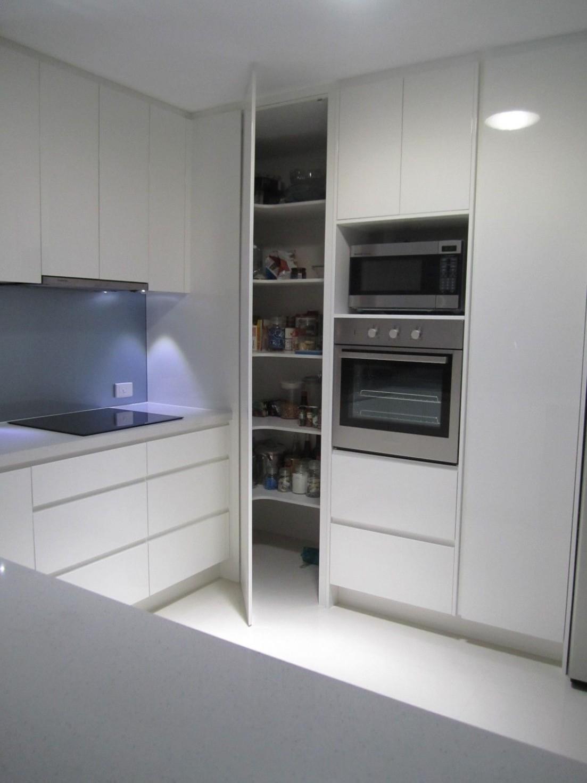 More ideas below: #KitchenRemodel #KitchenIdeas Indian Modular  - Floor To Ceiling Corner Kitchen Cabinets