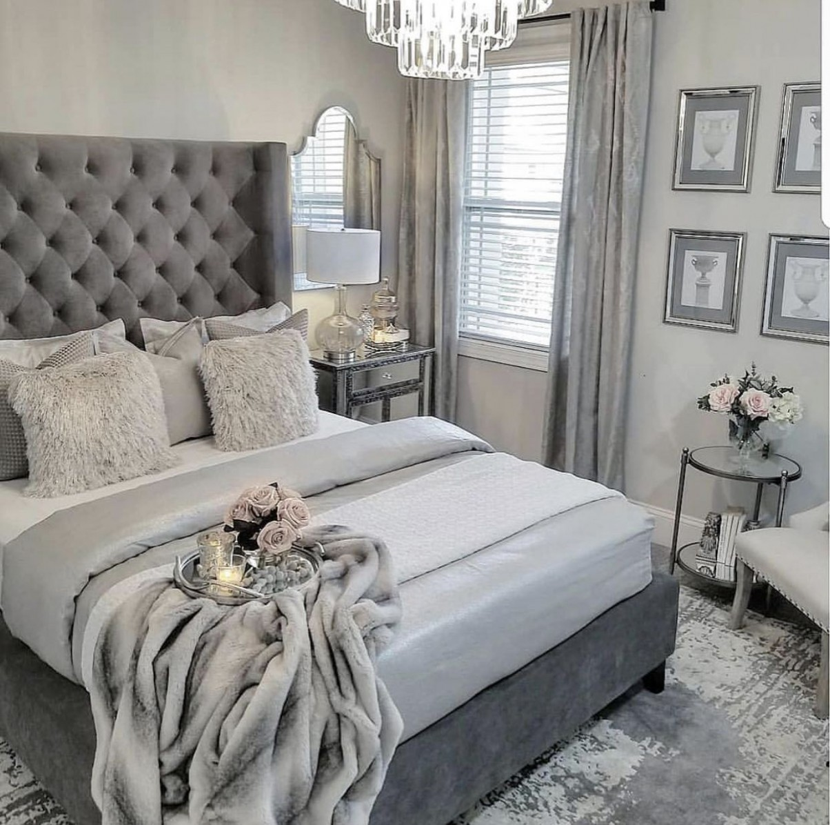 Most Popular grey decorating ideas for hallway for 12  Bedroom  - Bedroom Ideas Grey Bed