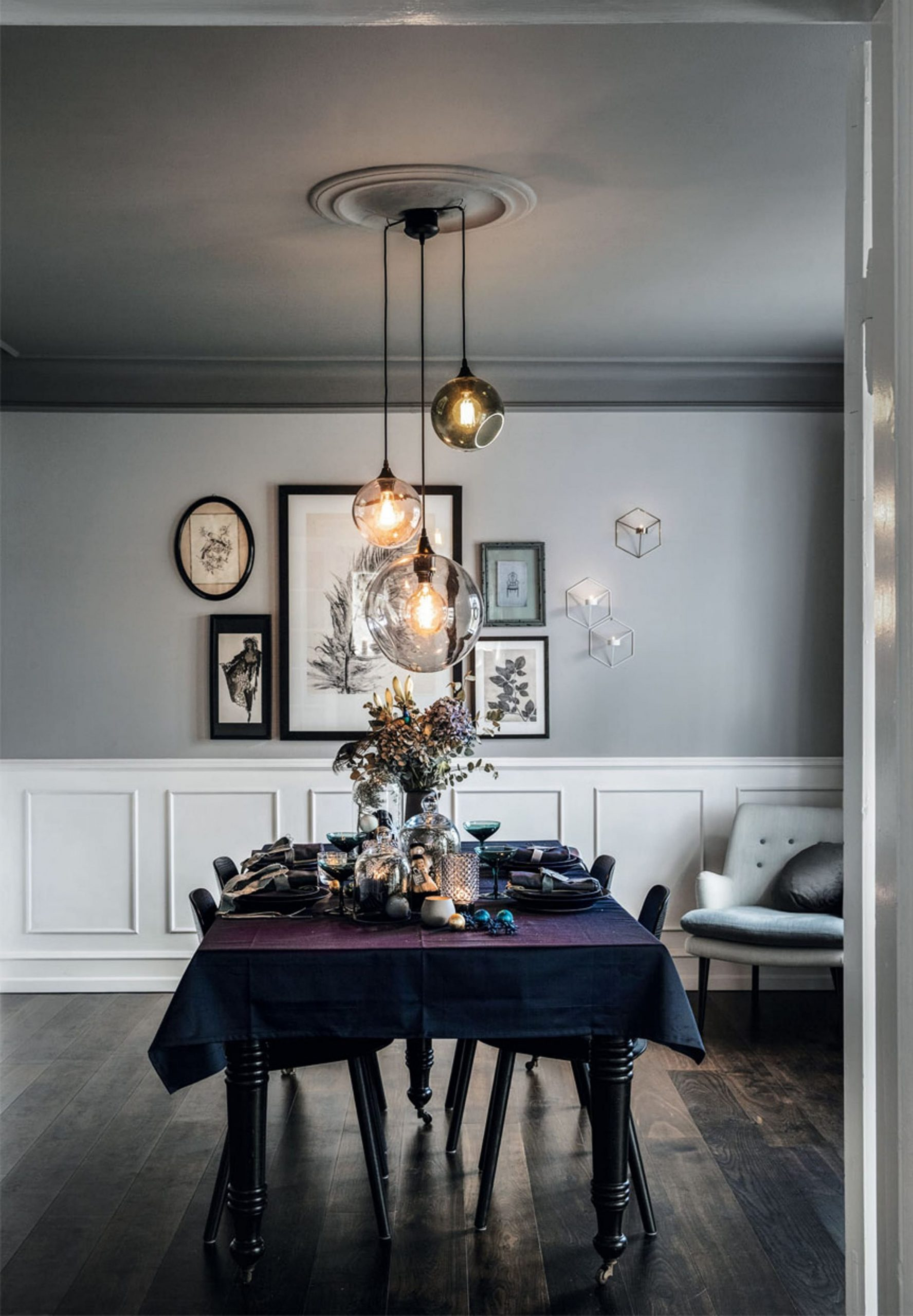 "Move Over, Minimalism: The ""New Victorian"" Look is On the Rise  - Modern Victorian Dining Room Ideas"