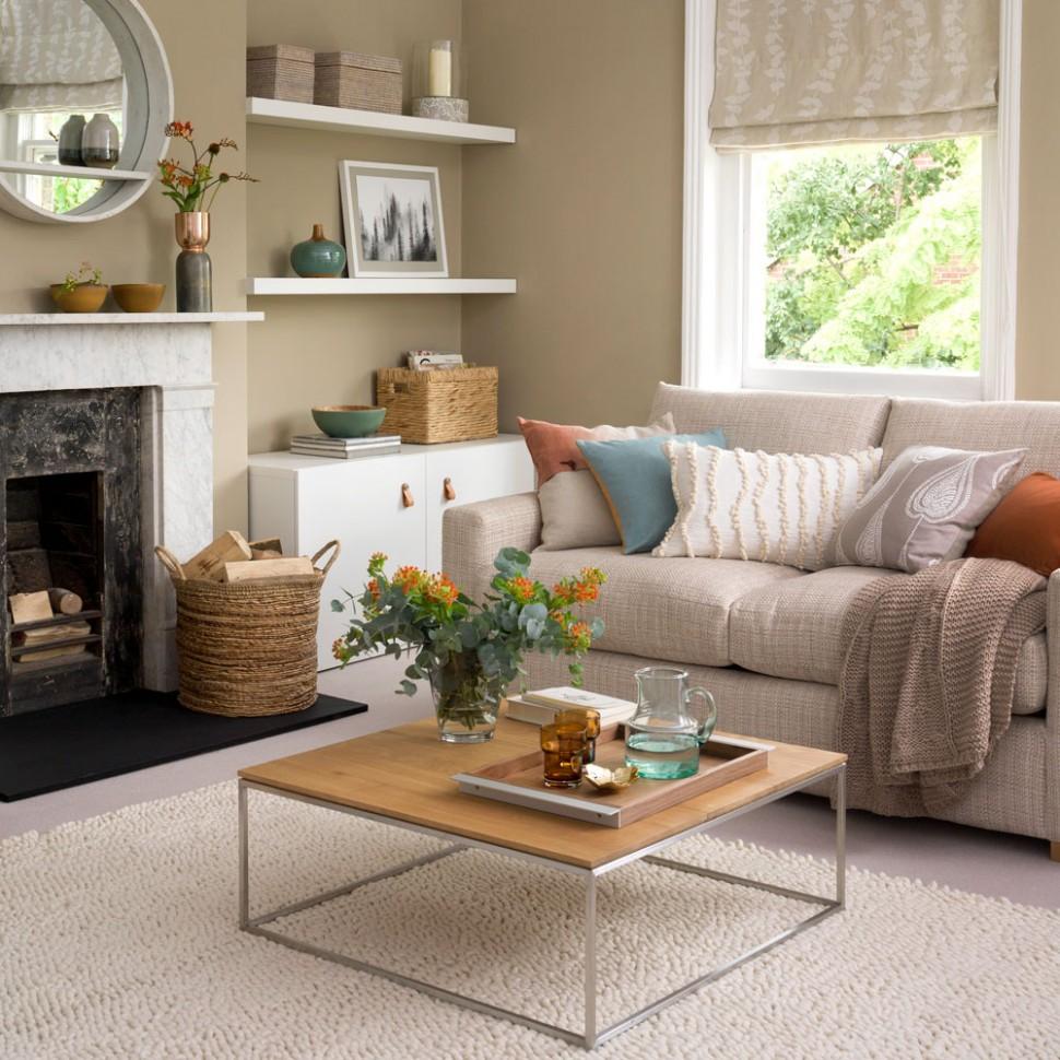 Neutral living room ideas – Neutral living rooms – Neutral colour  - Dining Room Ideas Cream