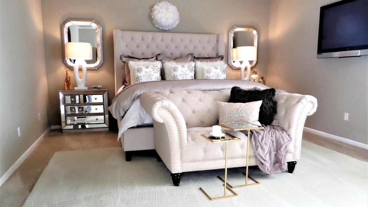 NEW! Luxury Master Bedroom Tour and Decor Tips & Ideas - Bedroom Ideas Luxury