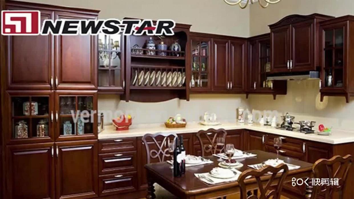 Newstar Wholesale Solid Wood Kitchen Cabinets With Granite Marble  - Wholesale Kitchen Cabinets And Granite